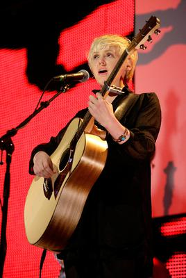 Laura Marling on stage long before lockdown
