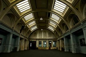 Success brewing: The historic Harland and Wolff HQ which is staging a major beer festival