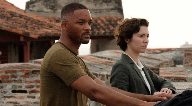 Pushing boundaries: Will Smith and Mary Elizabeth Winstead in Gemini Man