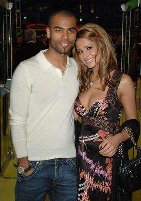 Old flame: Cheryl with first husband Ashley Cole