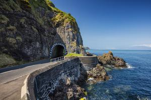 Tunnel vision: the Black Arch near Larne