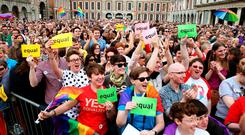 Seeking justice: people are still fighting for equal rights, such as same-sex marriage