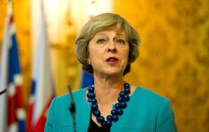 Prime mover: Theresa May attacked the 'liberal metropolitan elite' in her address to the Tory Party conference