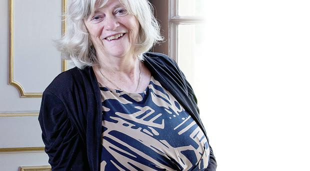 Brought to book: Ann Widdecombe will be speaking in Belfast this weekend about her colourful life