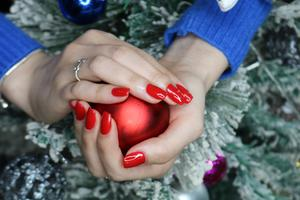 Ensure your nails are painted to perfection for bringing in the new year