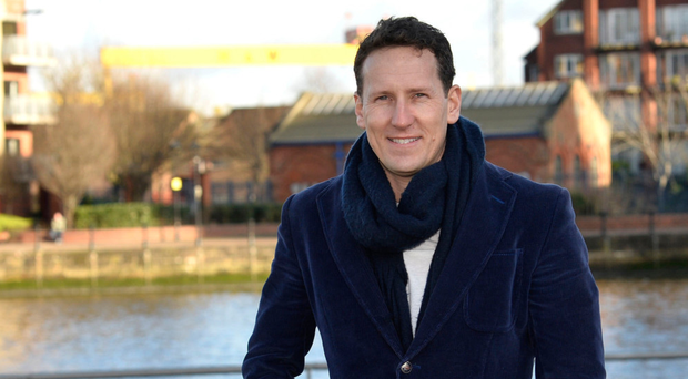 Brendan Cole at the Waterfront Hall in Belfast
