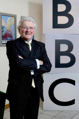 Sports presenter and commentator Jackie Fullerton