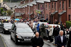 Final farewell: John Hume's funeral on Wednesday