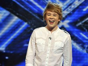 Homebird: Eoghan Quigg came back home two years after being on X Factor