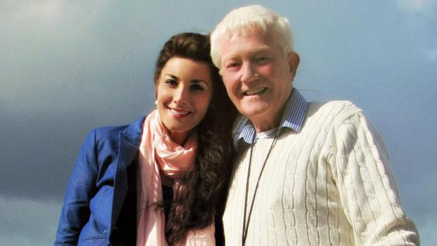 Singer Margaret Keys with her late father Bill