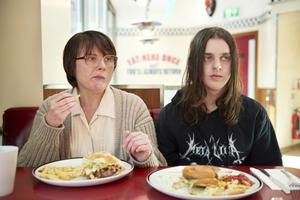 Food for thought: Monica Dolan as Sue and Earl Cave as Daniel in Days Of The Bagnold Summer