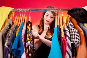 Clothing conundrum: much of our wardrobe hardly sees the light of day as we keep returning to the same items