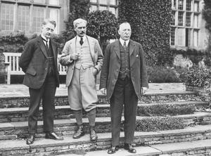 Dividing lines: May 1924, Prime Minister of the Irish Free State William Cosgrave, with British Prime Minister Ramsay Macdonald, and the first Prime Minister of Northern Ireland James Craig at Chequers