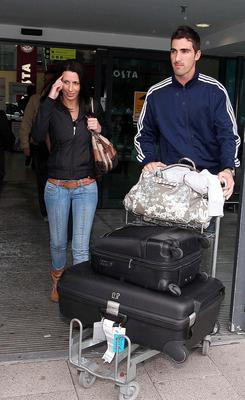 Ruan with wife Monique when they first arrived from South Africa in 2010