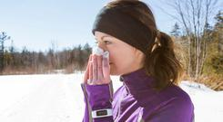 Under the weather: exercising with a cold isn't always wise but low-impact yoga can be beneficial