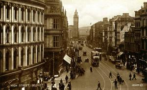Dark times: Belfast in 1918 during the deadly Spanish flu outbreak