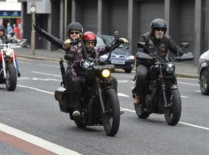 Frances hitches a ride through Belfast with NI Rats founder Afonso Fonzi