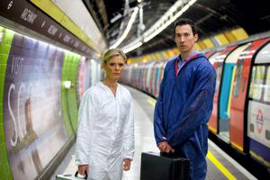 Fox and Northern Irish actor David Caves in Silent Witness