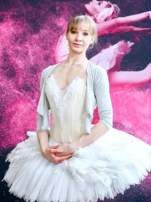 Dance star: ballerina Melissa Hamilton has worked her way up to become first soloist with the Royal Ballet Company