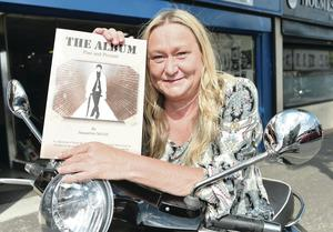 Photographer Jacqueline  McFall's book, The Album, is about mods in Belfast