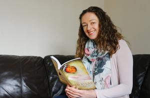 Life story: Belinda reading her book Fear To Love