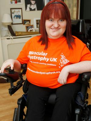 Michaela works to boost awareness of the rights of disabled young people