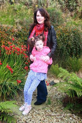 Adoring family: Kathleen Rose with mum Tracy