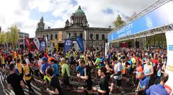 Pain relief: with the Belfast Marathon coming up, take steps to prevent blisters