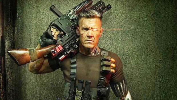 Fully loaded: Josh Brolin as Cable in Deadpool 2