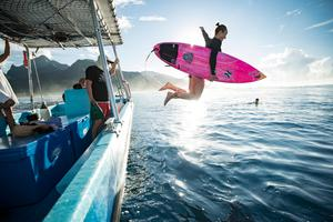 Surf's up: Carissa Moore