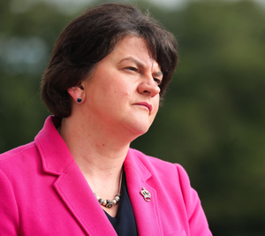 Under pressure: First Minister Arlene Foster's position is under threat once again
