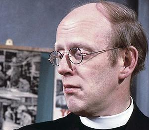 Popular character: Frank Williams took on many roles throughout his career, but will no doubt always be best remembered for playing the vicar in Dad's Army