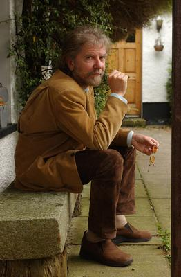 Sad memories: musician and writer Tommy Sands at his home in Rostrevor