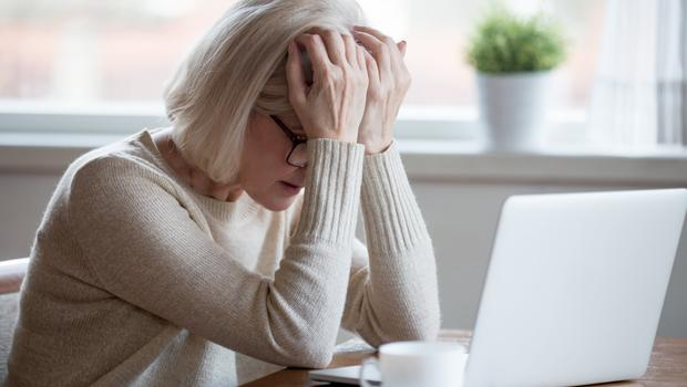 Stressed out: many people suffer from anxiety