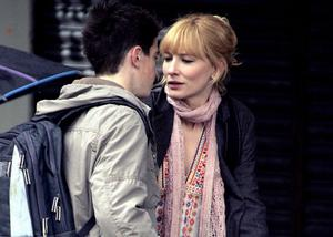 Big break: Andrew Simpson and Cate Blanchett in the film Notes On A Scandal
