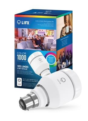 f LIFX Colour 1000 Smart Bulb With Built-In Wi-Fi available from Currys.co.uk.