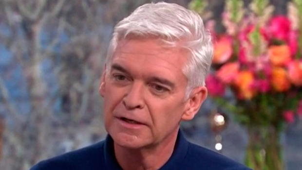 TV presenter Phillip Schofield