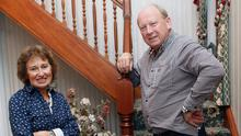 Jim Allister with wife Ruth