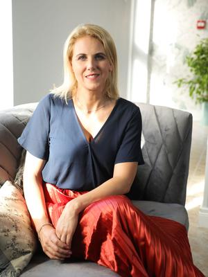 Successful business: Lisa McCrink inside her Zen Day Spa in Newry
