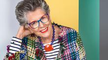 Branching out: Prue Leith wearing items from her Lola Rose jewellery collection