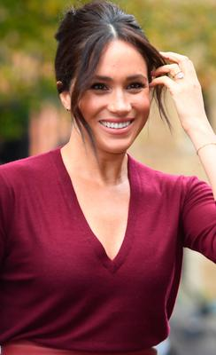 Global-reach: The Duchess of Sussex's star status has risen in a few short years