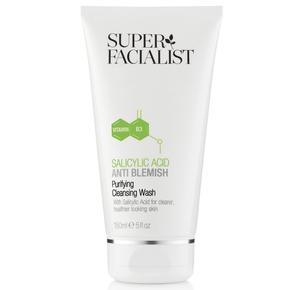 3. Super Facialist salicylic acid purifying cleansing wash, £9, Boots