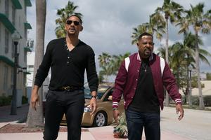 Miami swagger: Will Smith (left) as Mike Lowrey and Martin Lawrence as Marcus Burnett