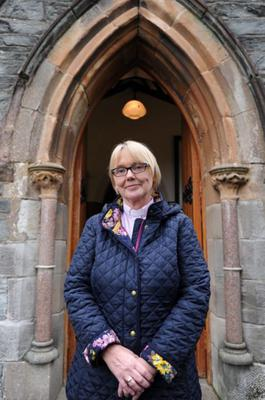 Breaking the mould: Rev Pat Storey was appointed as the Anglian Church's first woman bishop in Ireland