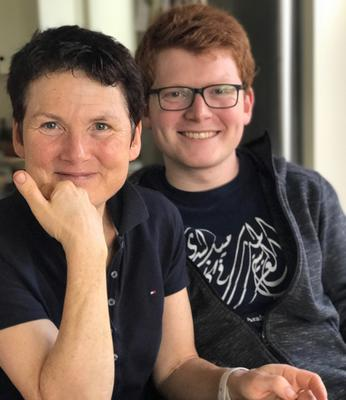 Happy times: Lily Collison and her son Tommy