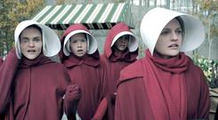 No control: A scene from TV's The Handmaid's Tale