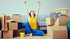 Future planning: it's a great feeling when you finally move into your own house