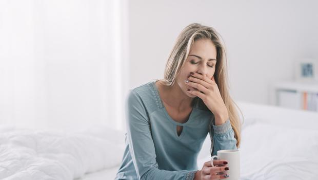 Stressed out: problems with sleep is one of the symptoms of CFS