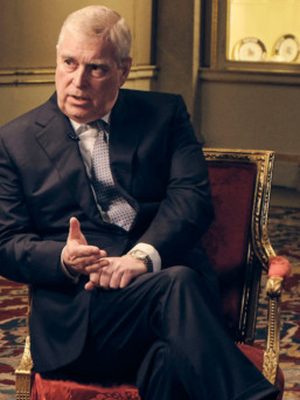 Big interview: Prince Andrew during the BBC Newsnight programme