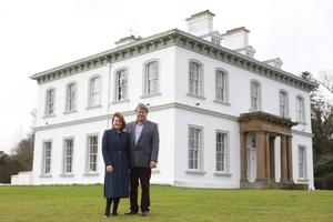 The Mulhollands have been renovating the lawns at Ballyscullion Park